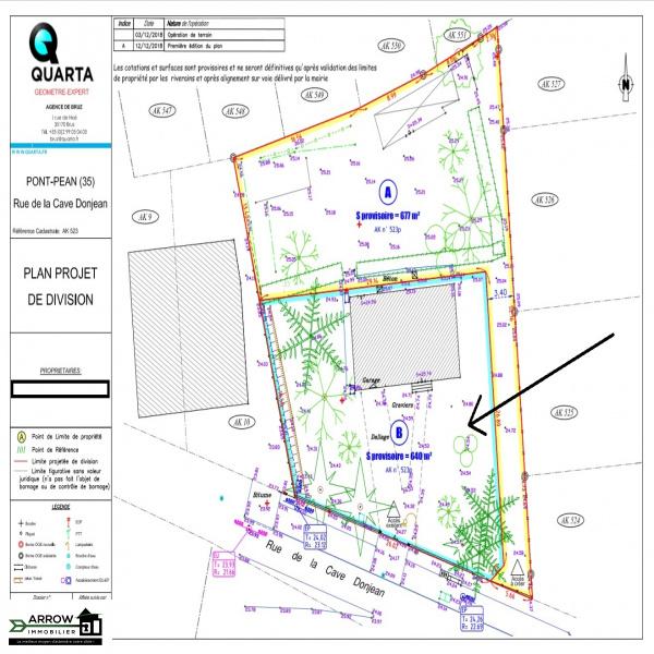 Offres de vente Terrain Pont-Péan 35131